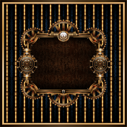Steampunk Frame 3 by IllustratorG
