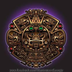 Secret Maya Message by IllustratorG