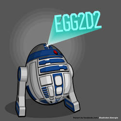 Egg2d2 by IllustratorG