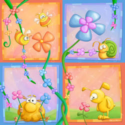 A Flower Thing by Tooshtoosh