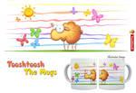 Wallo the sheep mug by Tooshtoosh