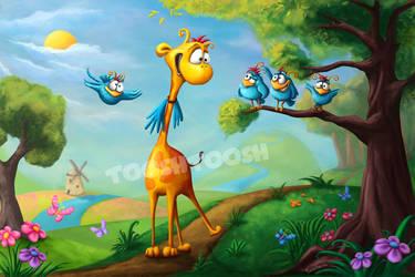 Giraffraf by Tooshtoosh