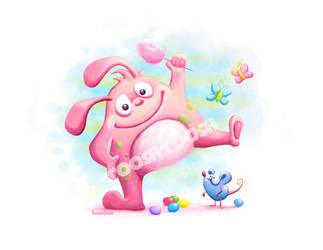 Pikipiki sweet as cotton candy by Tooshtoosh