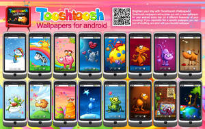 Wallpapers Android App by Tooshtoosh