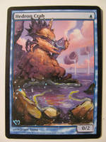 Mtg Alter: Hedron Crab by OhMaiAlters