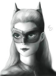 Catwoman Dark Knight rises by robepate