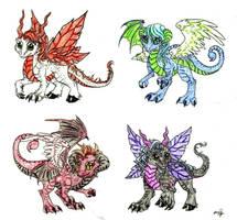 baby dragons HEHE by itachigarradragon1