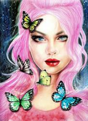 talking like butterfly by nakedcrayon23
