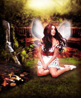 Garden Fairy by KirstenStar