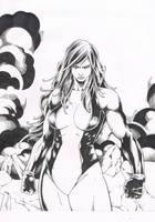 She-hulk by fly-on-romance