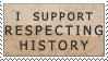 Respect History Stamp by sugaredheart
