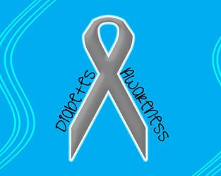 Diabetes Awareness WP Large by sugaredheart