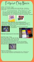 Poly Clay Basics:Intro To Clay by sugaredheart