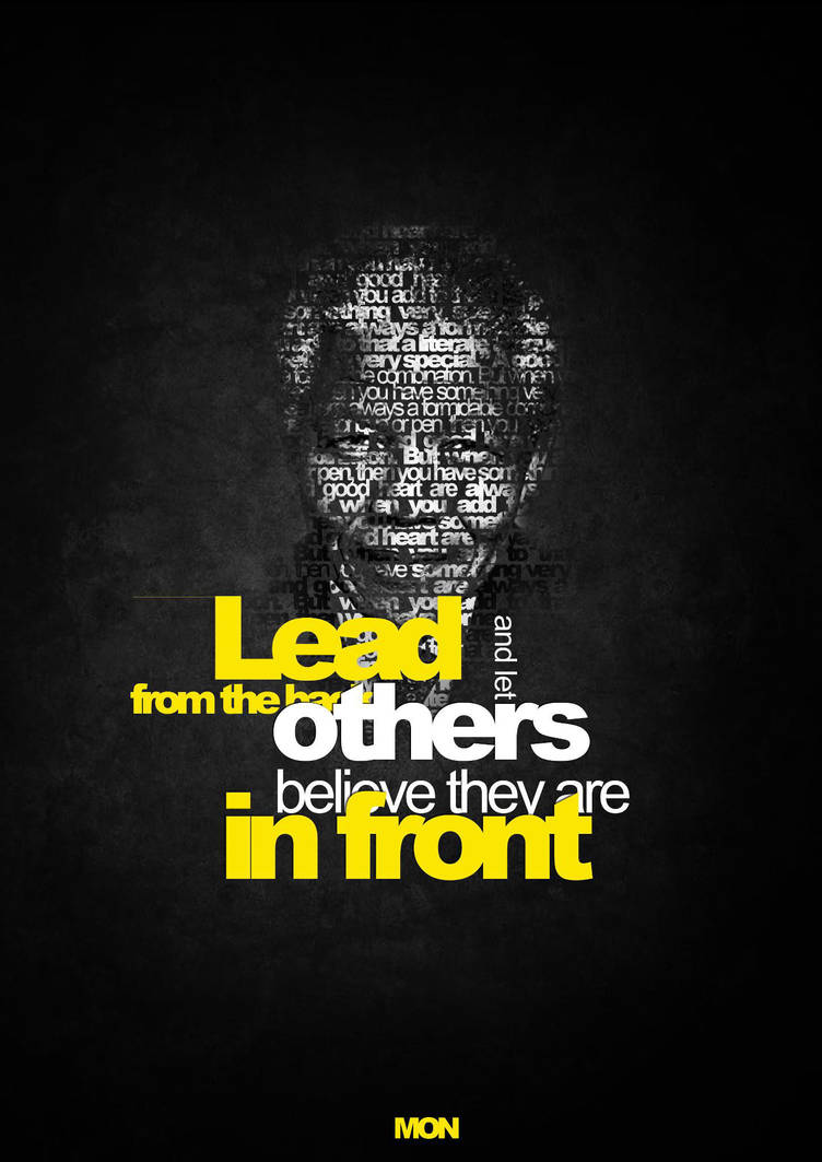 Nelson Mandela by MON-OMER