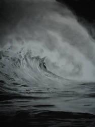 A Wave by ScratchedCanvas