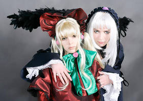 Shinku and Suigintou by Ryoko-demon