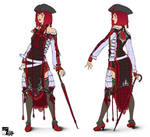 Kimanona's costume by Ryoko-demon