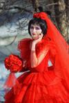 Bloody bride by Ryoko-demon