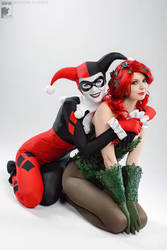 Harley and Ivy by Ryoko-demon