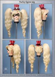 Harley Quinn wig by Ryoko-demon