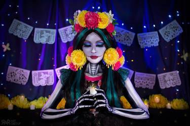 Dia de los Muertos by Ryoko-demon