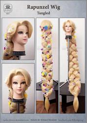 Rapunzel Wig - Tangled by Ryoko-demon
