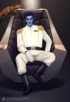 Grand Admiral Thrawn by JayceJvR1992