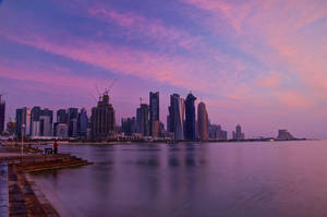 Qatar - Doha - Corniche - Dawn 03 by GiardQatar