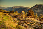 Greece - Delphi - Tholos - 03 by GiardQatar