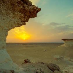 Qatar - Zekreet - Sunset by GiardQatar