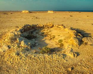 Qatar - Zekreet - Shepherd Rest Point by GiardQatar