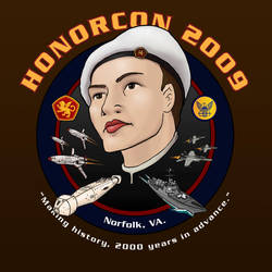 Honorcon 2009 T-Shirt Design by thomasthecat