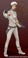 Captain Honor Harrington by thomasthecat