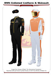 House of Steel - RMN Enlisted Uniform by thomasthecat