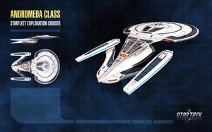 Andromeda Class Starship for Star Trek Online by thomasthecat