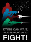STO Delta Recruit Poster - Dying Can Wait by thomasthecat