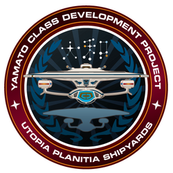 Starfleet Patch - Yamato Class Development by thomasthecat