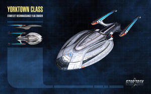 Yorktown Class Starship for Star Trek Online by thomasthecat