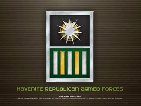 PRH Armed Forces Desktop by thomasthecat