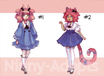 (OLD) Kemonomimi Adopts by Ninny-Adopts