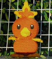Torchic Pokemon Plushie by W0IfDreamer