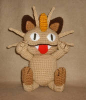 Meowth Plushie by W0IfDreamer