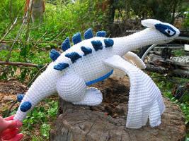 Lugia Crochet Plushie by W0IfDreamer