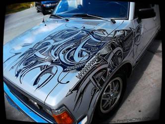 Sharpie Art done LIVE by PinstripeChris