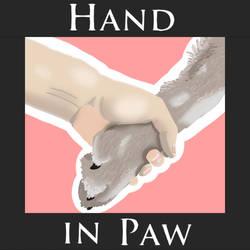 Hand in Paw Logo by xJupi