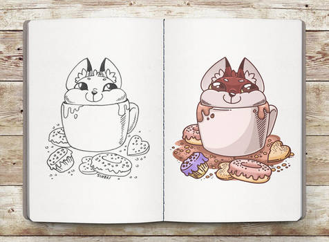 A cup of Fox. by Sineki