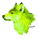 Wolfdog Speedpaint by global-wolf