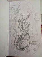 Another Mushroom Spirit by PorteuseDePeau