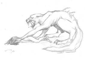 Werewolf by PorteuseDePeau