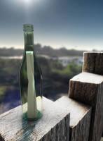 Message in a Bottle by Emperor-Monkey